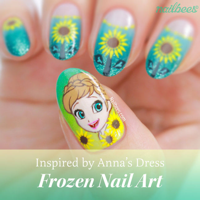 17 Pieces Of Amazing Frozen Nail Art