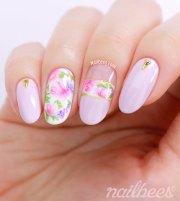 realistic rose nail art nailbees