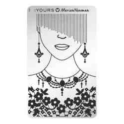 YOURS Stamping Plates Mannequin 8719324059046
