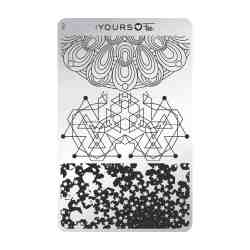 YOURS Stamping Plates Sacred Shapes 8719324059459
