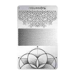 YOURS Stamping Plates Angular Fade 8719324059466