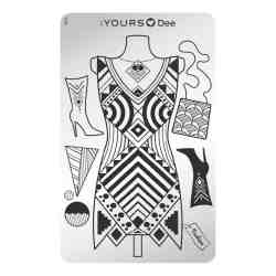 YOURS Stamping Plates Dress to Impress 8719324059961