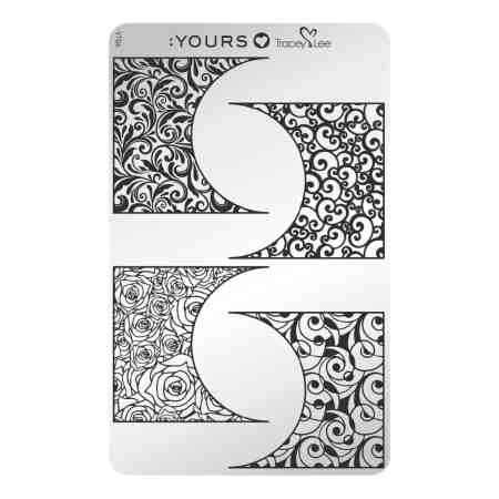 YOURS Stamping Plates Off The Cuff 8719925720154