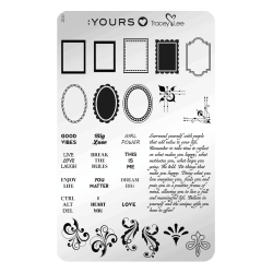 YOURS Stamping Plates Frame Of Mind 8719925720260