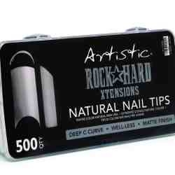 Artistic ROCK HARD XTENSIONS Naturel nail tip 500st