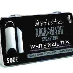 Artistic ROCK HARD XTENSIONS White nail tip 500st
