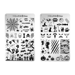 YOURS Stamping Plates Halloween Night (Double Sided)8719925720635