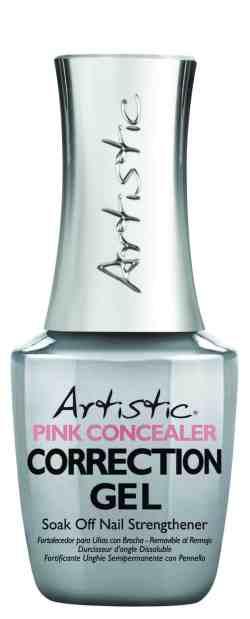 Artistic Colour Gloss Correction Gel Pink Concealer 15ml