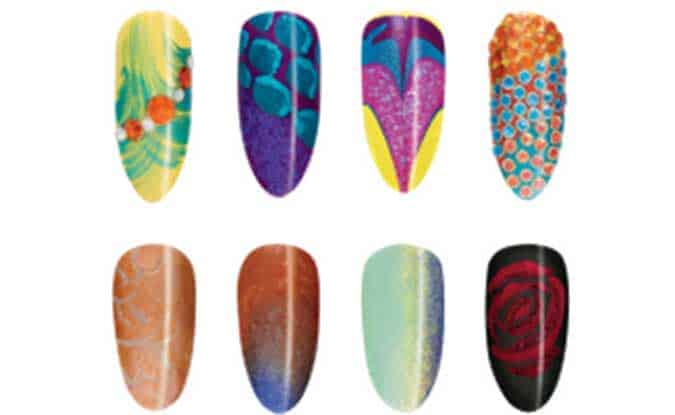 CND Nail Art 3