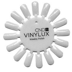 Vinylux nail tip display disk