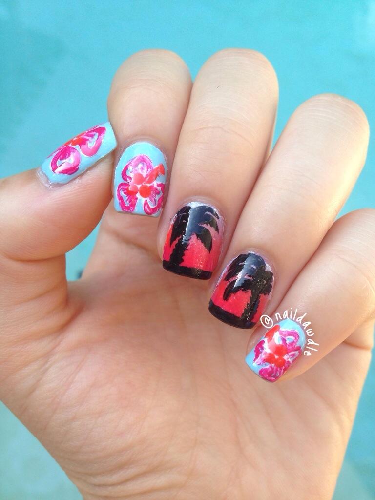 Hawaiian Nails
