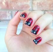 ladybug nails naildawdle