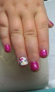 cute & easy nail design