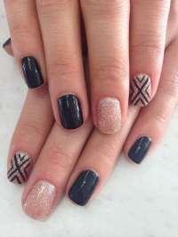 50 Snazziest Glitter Nail Design Ideas  NailDesignCode