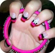 hottest pink nail design trending