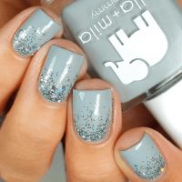 25 Glamorous Ombre & Grey Nail Designs for 2018