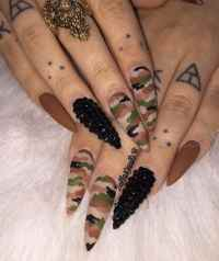 20 Epic Dope Nail Designs for Trendy Women  NailDesignCode