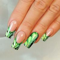 20 Soothing Lime Green Nail Designs to Die for ...