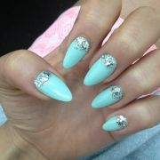 posh tiffany blue nail polish