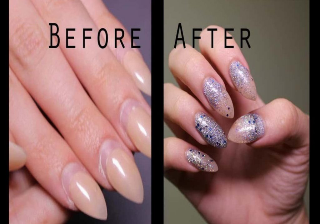 The Filing Is A Must Since Your Natural Nails Will Grow Underneath Fake Those Ugly Gaps Appear And You Want To Cover Them