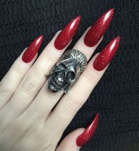 10 Most Awaited Red And Pink Stiletto Nails for You