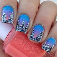 20 Cool Winter Nail Designs to Embrace The Festive Season