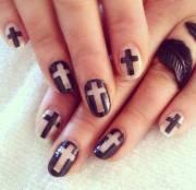 cross nail design uphold