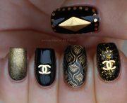 7 chanel nail design flaunt