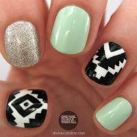 9 Fun Aztec Nail Art Designs You Should Try | Nail Designs