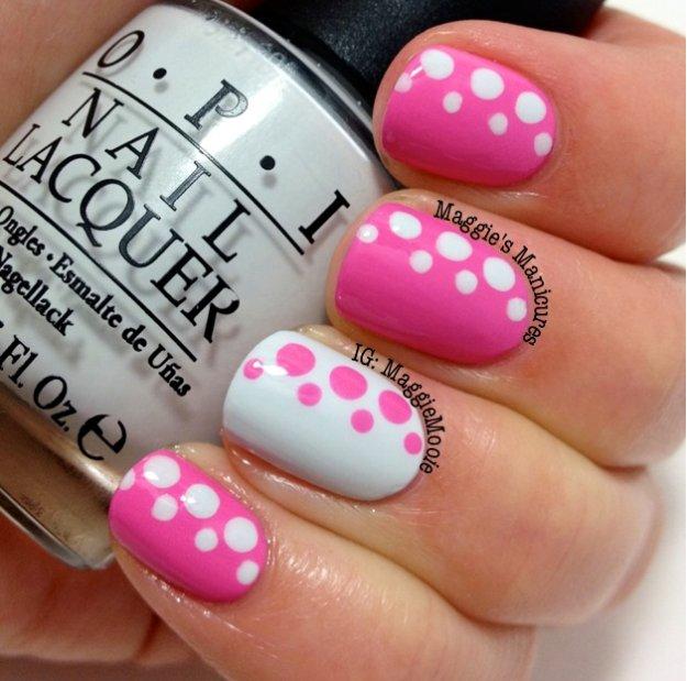 11 Must Try Polka Dot Nail Art Designs