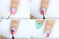 [Tutorial] Summer Nail Art: My-Oh-Matte Palm Tree Nail ...