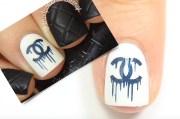 tutorial high fashion nail design