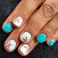 Beach Inspired Nail Art Designs