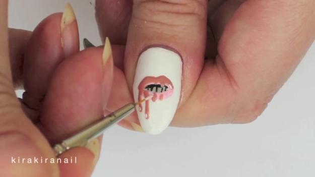 Kylie jenner nail art images nail art and nail design ideas lip nail design choice image nail art and nail design ideas kylie jenner nail art gallery prinsesfo Image collections