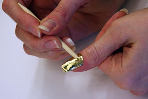 Metallic Nail Art Chrome Nails Alternatives Design Have You Heard Of