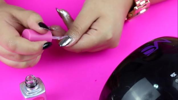 Canni Nail Mirror Pigment Powder Chrome Gel Polish Glitter