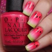 yummy fruit nail art design