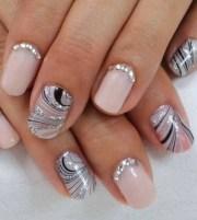 pinned diamond nails