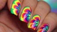 Easy & Fun Rainbow Nail Art Tutorial For Beginners | Nail ...