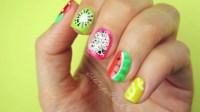 Amazing Fruit Nail Art Tutorials You Can DIY   Nail Designs