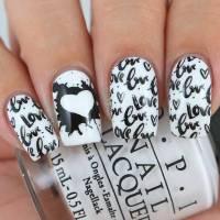Beautiful Black And White Nail Designs | NailDesignsJournal
