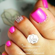 fabulous toe nails design