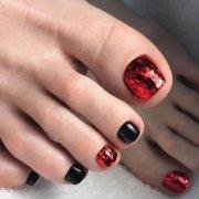 beautiful toe nail art ideas