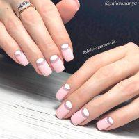 Cool Reverse French Manicure Designs   NailDesignsJournal.com