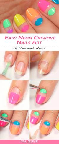 Easy And Creative Nail Design To Try   NailDesignsJournal.com