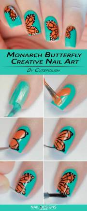 easy and creative nail design