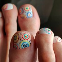 45 Pretty Nail Designs For Toes | NailDesignsJournal.com