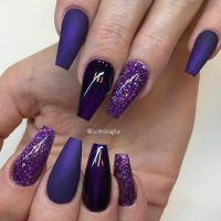 Coffin Tip Nails For Every Taste