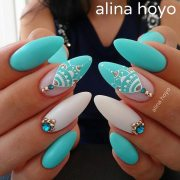 color nails with trendy shades