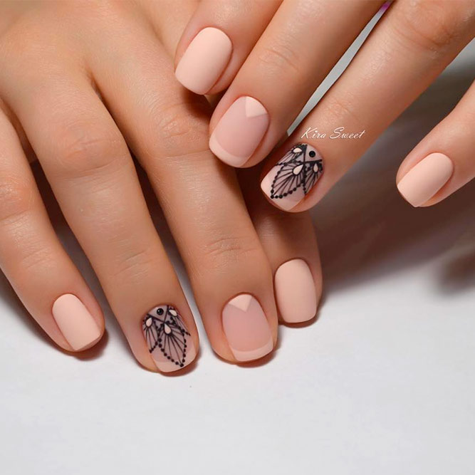 21 Summery French Tip Nail Designs